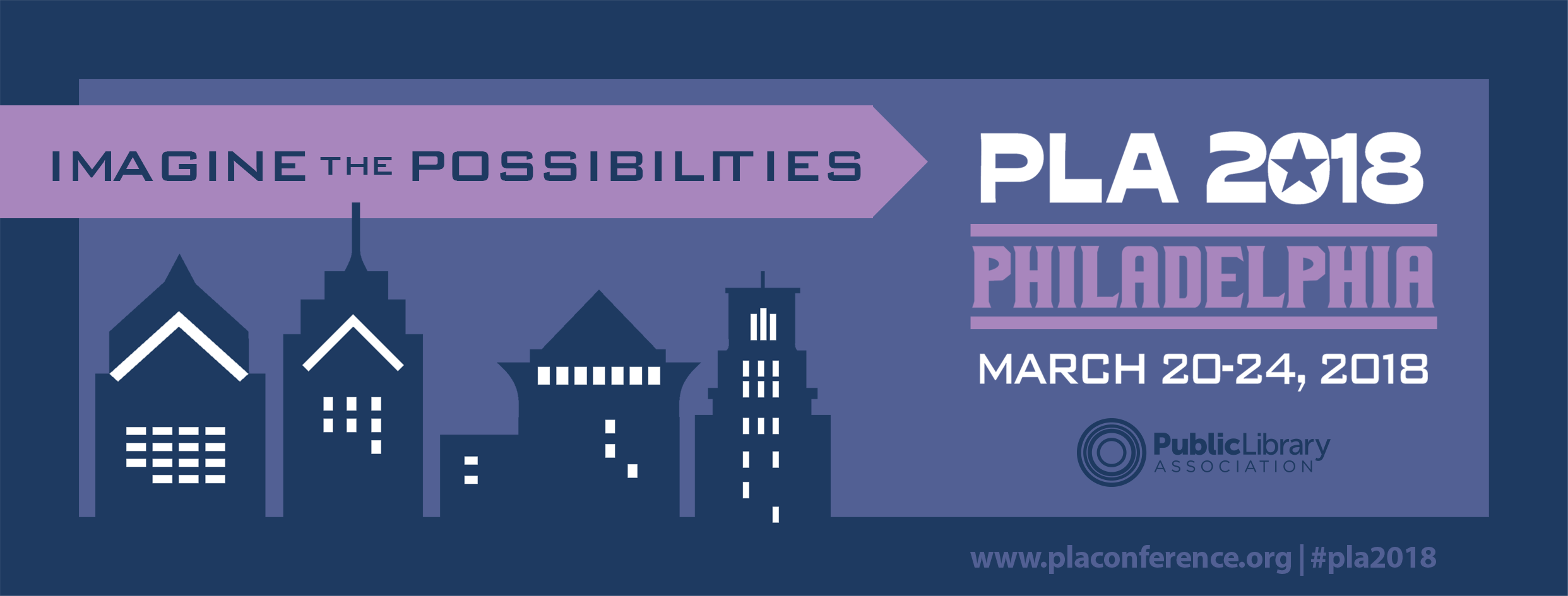 PLA 2018 Imagine the Possibilities Facebook Cover
