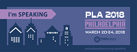 PLA 2018 I'm Speaking Facebook Cover Thumbnail